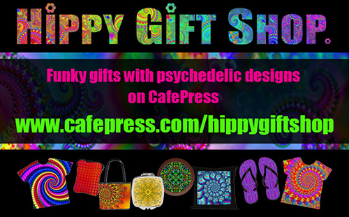 Buy funky gifts from the Hippy Gift Shop on Cafepress