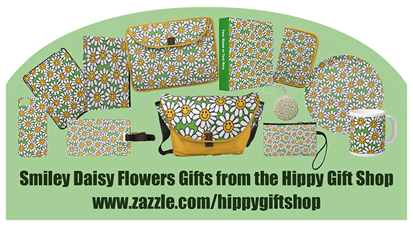 smiley face daisy flower pattern GIFTS